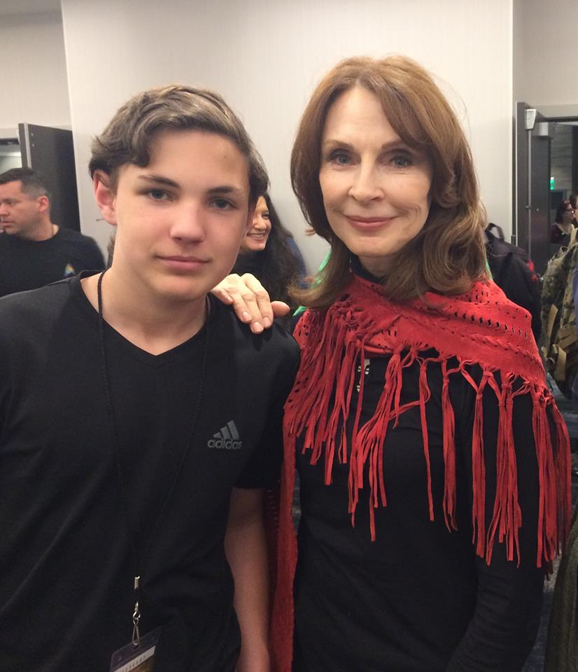 Gates McFadden: Otherwise known as Mrs. Spiner!