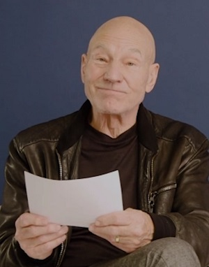 Patrick Stewart Reads One Star Reviews!