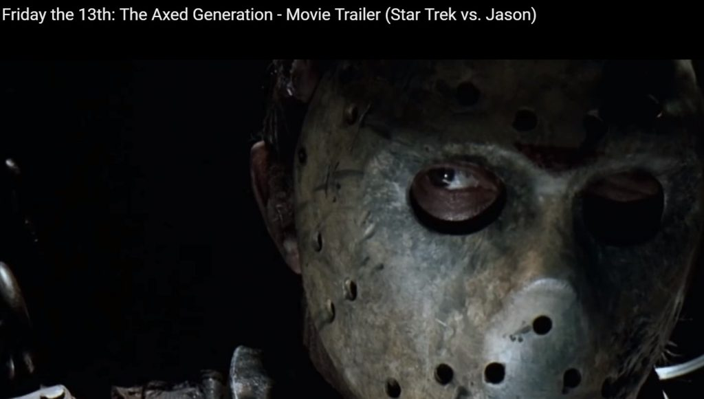 Happy Friday the 13th! Jason vs. Star Trek
