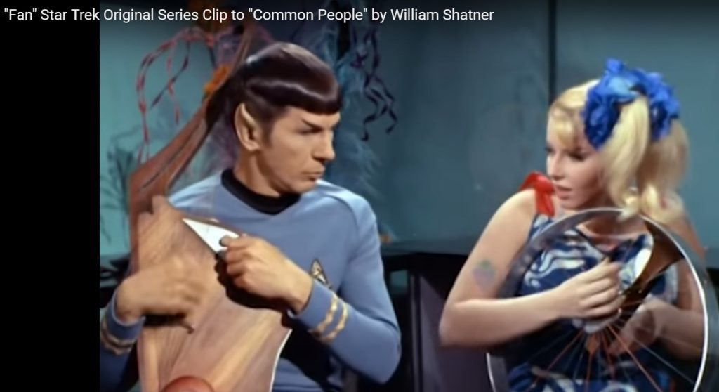 Fan made Common People by William Shatner