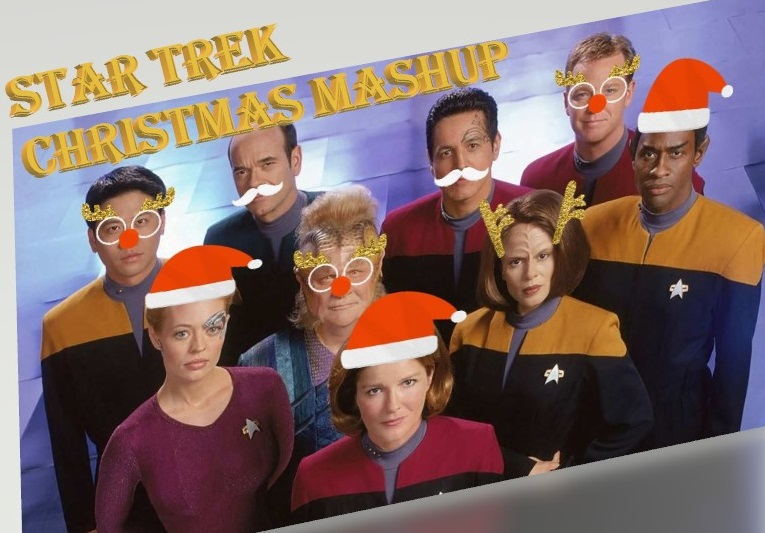 Star Trek Christmas Mashup