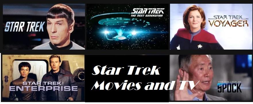 Star Trek Movies and TV