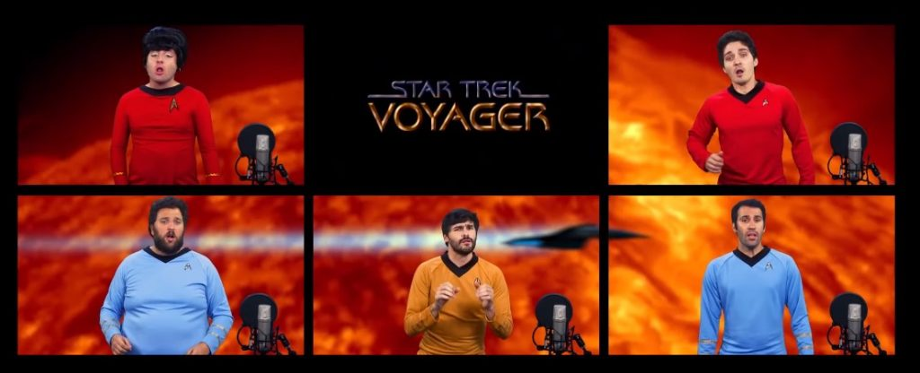 Star Trek Acapella Medley! From The Warp Zone